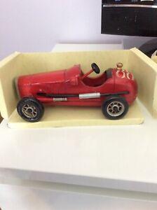 Memorabilia Model Classic Racing Car hand crafted