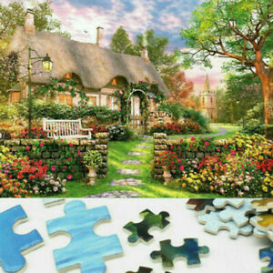 1000 piece England Cottage Jigsaw Puzzle Puzzles Adults Learning Education LD