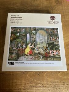 Wentworth Wooden Jigsaw 500 Pieces Allegory Of Painting By Brueghel 460894