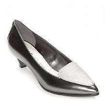 Anne Klein Gray Patent Leather PUMPS Size 8 M