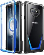 Case For Samsung Galaxy Note 9 Poetic【Guardian Series】Shock Absorbing Case Blue