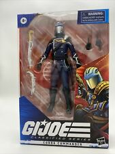 GI Joe Classified Series - COBRA COMMANDER 6? Action Figure - Hasbro NEW In hand