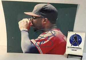 Jason Heyward autographed 8X10 no coa atlanta braves, chicago cubs