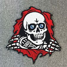 Powell Peralta Ripper Skateboard Patch 4.5in Adhesive Iron on Patch