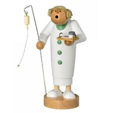 Nurse Medicine German Smoker Incense Burner - Made in Germany - Wooden Handmade