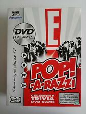E! POP-A-RAZZI Celebrity Trivia DVD Game Parker Games DVD TV Games