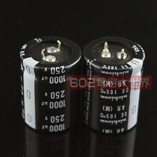 2pcs Nichicon 1000UF 250V GR Electrolytic Capacitor 35X45mm CE 105℃ #E142 YX
