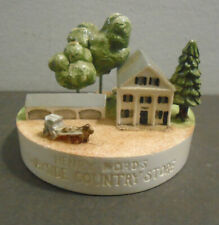Vintage 1985 Sebastian Miniatures Henry Ford'S Wayside Country Store 481/2500