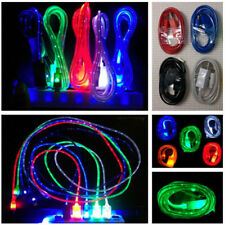 LED Light Micro USB Cable Charger Data Charging Cord for Android Samsung Galaxy