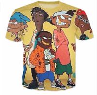 2017 Fashion Womens/Mens Ed Edd N Eddy Trap Funny 3D Print Casual T-Shirt QKJ19