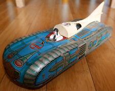 VINTAGE INTERKOZMOSZ TINPLATE SPACE TOY CAR RARE C. 1960's FUTURISTIC HUNGARY