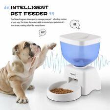 Futter Und Wasserspender Katze Hunde Futterautomat Futterstation Pet Feeder x9