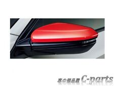 HONDA CIVIC TYPE R FK8 MODULO FLAME RED MIRROR COVER SET Car Parts from JAPAN