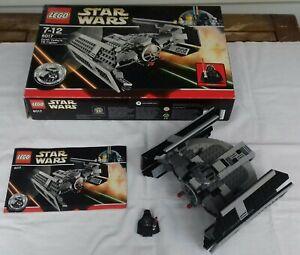 Lego Star Wars 8017 Darth Vader´s TIE Fighter mit OVP und BA