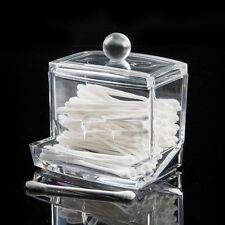 contenitore display plexiglas porta cotton fioc distributore make up consolle