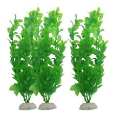 1x Artificial Water Plants Faux Plastic Tree Grass For Fish Tank Decor