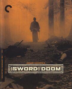 THE SWORD OF DOOM (1966) dir: Okamoto / Blu-ray / Criterion / Mint as new