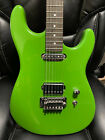 Warmoth Strat Charger Green with Suhr Thornbucker and Non-Fine Tuner Floyd Rose