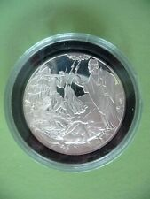 .999 Irish Silver Medal Cachet St. Patrick lights the paschal fire Christianity