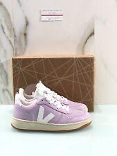 Veja V10 Sneaker Donna In Pelle Lilla Organic Sneaker Veja Donna 40