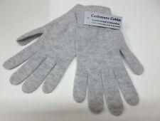Light grey lambswool gloves mens ladies womens wool woollen winter NEW Scotland