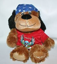 "Bret Michaels Pets Rock Plush Dog Chance 19"" Petsmart Lucky Luv a Pet"