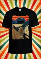 Gingerbread Cookie Monster Scream Men Women Vest Tank Top Unisex T Shirt 2214