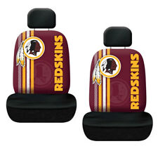 New NFL Washington Redskins Printed Logo Car Truck 2 Front Seat Covers Set
