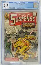 TALES of SUSPENSE #41 CGC 4.5 3rd App IRON MAN 1963 Dr Strange SILVER MARVEL KEY