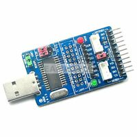 ALL IN 1 USB to SPI/I2C/IIC/UART/TTL/ISP Serial Adapter