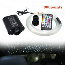 2M 12V Car Audio Fiber Optic Star Light  Headliner Roof Ceiling Light 300 Points