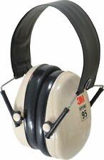 3M PELTOR H6F/V, 21db Folding Ear Muffs, Black/Beige