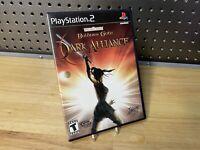 Baldur's Gate: Dark Alliance Sony Playstation 2 PS2 Game Complete Free Shipping
