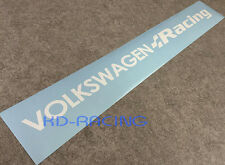 Volkswagen Racing VW Windscreen Sticker Decals Golf GTi R32 R Clubsport