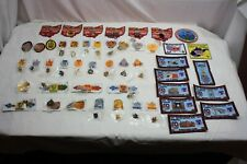 Huge Lot AVA IVV VOLKSMARCH Walking Patches OHIO Buckeye Distance Pins & Patches