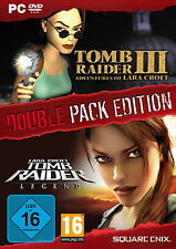 Tomb Raider III & Tomb Raider Legend double pack JEUX Collection PC DVD-ROM