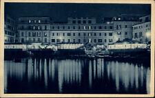 Anzio Italia AK ~1920/30 Riflessi sul Tirreno Lichtreflektionen Meer bei Nacht