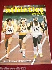 ATHLETICS WEEKLY - JUDY LIVERMORE - APRIL 9 1983 VOL 37 # 15