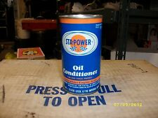 60s Vintage Sta-Power Oil Conditioner, ONE 5oz.  Oil Can,Unopened, DAD,S