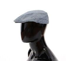 NUEVO CON ETIQUETA DOLCE & GABBANA Vaqueros azules Algodón Logo Papelero gorra
