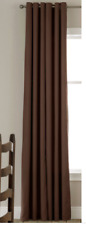 """JCP Linden Street Grommet Thermal Panel Chocolate, Brown 40"""" X 72"""", Lined"""