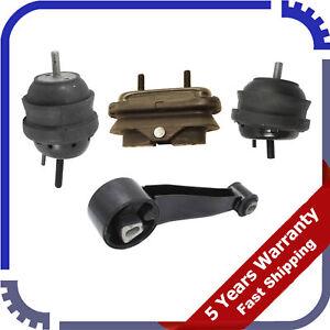 For Buick Lucerne 3.8L 06-08 5437 5438 5439 5456 Set Engine Motor & Trans Mount