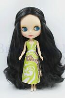 "New 12"" Neo Blythe Doll from factory Long Black Curly hair for DIY Gift  Toy"