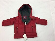 Baby GAP Boy Puffer Jacket Red Coat   Size  12-18 months