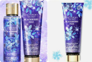 Victoria's Secret BLACKBERRY FIZZ Lot Body Lotions & Body Mist Discontinued NEW