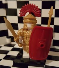 Custom Roman Centurion Legionary Gold Armor & Weapon Pack for Lego Minifigures