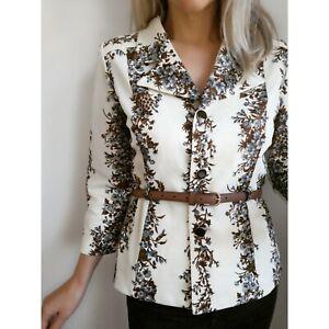 1960's 1970's Vintage Mod Blazer Jacket 10-12