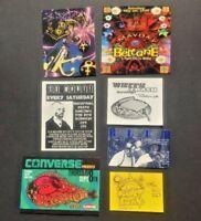 Vintage RAVE Flyer BLUE, LOOSE, BELTANE, SOUL KITCHEN, SO WHAT! (LOT 151)