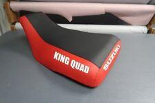 Suzuki Eiger 400 2000-06 Red Sides Logo Seat Cover #nw2245mik2244