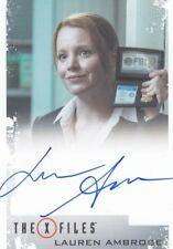X-Files Seasons 10 & 11 Lauren Ambrose as Special Agent Einstein Auto Card